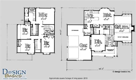 4 bedroom 2 story floor plans 4 bedroom 2 story house plans