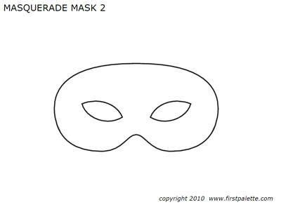 create your own mardi gras mask with these free templates
