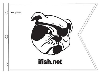 ifish salty dogs ifish salty flag mockup www ifish net