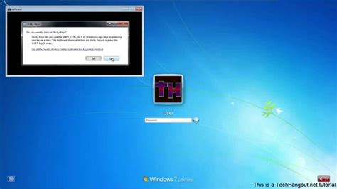 windows reset password sticky keys how to change windows password using sticky keys youtube