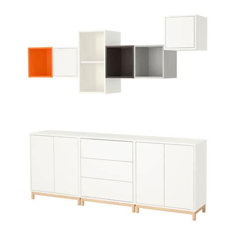 EKET Cabinet combination with legs Multicolour 210x35x210