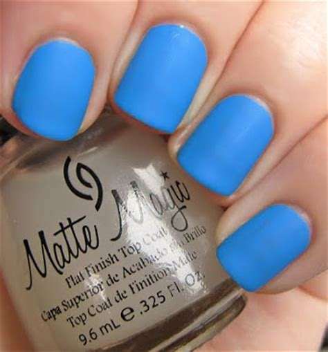 china glaze matte magic china glaze matte magic top coat swatches review all