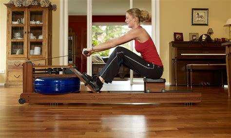 house of cards rowing machine waterrower classic in american black walnut ivip blackbox