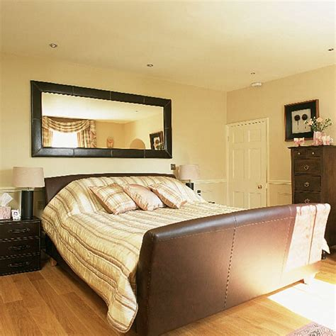 Brown Leather Bedroom Furniture Brown Leather Bedroom Bedroom Furniture Decorating Ideas Housetohome Co Uk