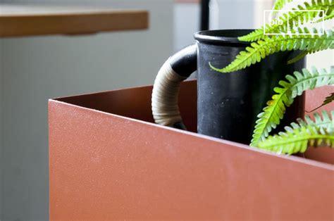 Jardiniere D Interieur Sur Pied by Jardini 232 Re Sur Pied M 233 Tallique Ocre Pib