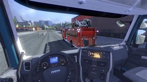 Funeral Home Interiors by Fire Truck Traffic Ets2 Mods