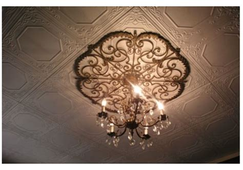 Wrought Iron Ceiling Medallions by Wrought Iron Ceiling Medallion Ceiling