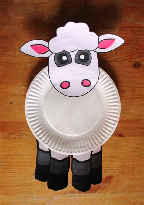 How To Use Paper Plates For Crafts Idea - paper plates animal craft ideas craft projects