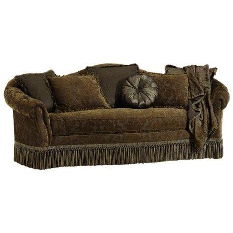 sofa with fringe skirt rachlin sofas home living room sofa rachlin classics