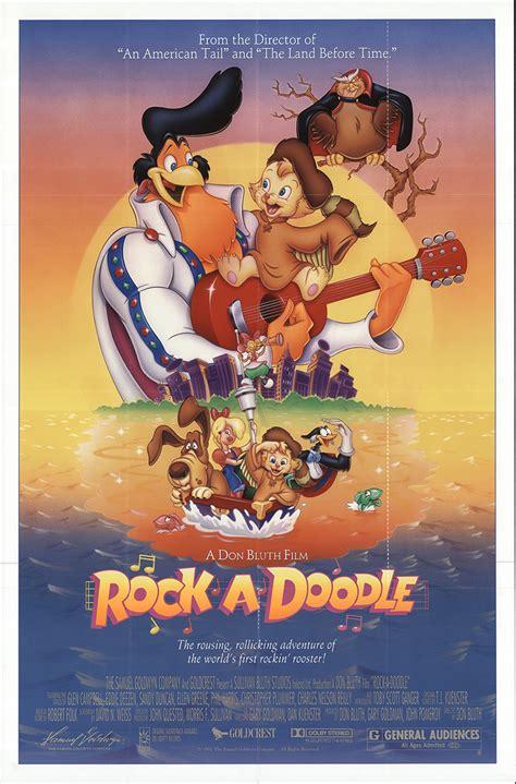 rock a doodle free rock a doodle 1991 original poster fff 59926 fff