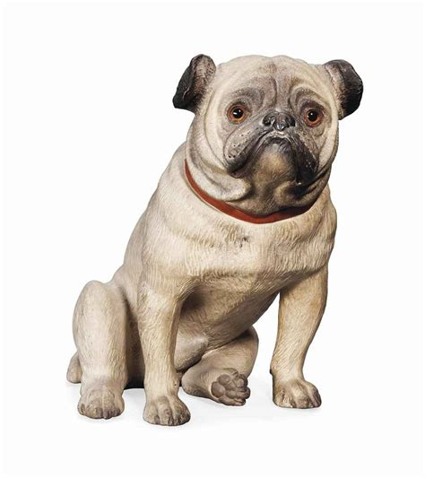 early pugs an austrian terracotta model of a pug early 20th century christie s