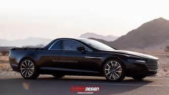 Aston Martin Truck Aston Martin Lagonda Rendered As Truck