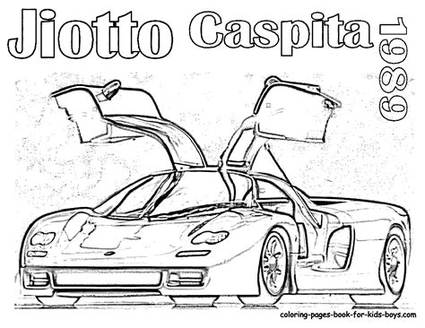 sports car coloring pages sports cars