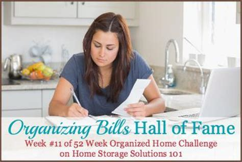 home storage solutions 101 organized home organizing bills hall of fame ideas solutions
