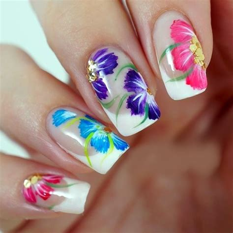 Nail Designs Flowers
