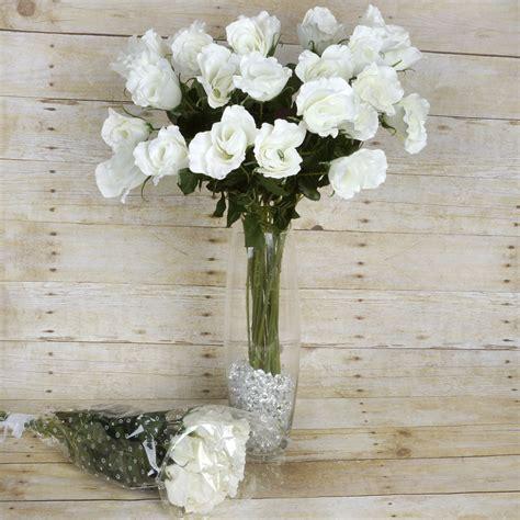 Best Single Stem Flowers Wedding 12 Dozens 144 Long Single Stem Roses Wholesale Silk