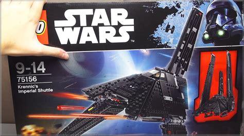 Orson Krennic Minifigure Starwars Lego Minifigure lego wars krennic s imperial shuttle 75156 unboxing