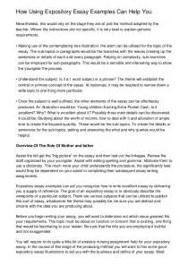 A Expository Essay by To Writing A Expository Essay Essay Tips How To Write An Expository Essay