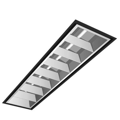 Parabolic Light Fixtures Parabolic Fluorescent Light Fixtures Recessed Fluorescent Lighting 3d Model Formfonts 3d Www
