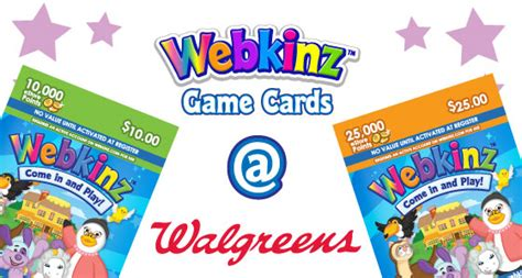 Webkinz Gift Card - webkinz game cards are now at walgreens wkn webkinz newz