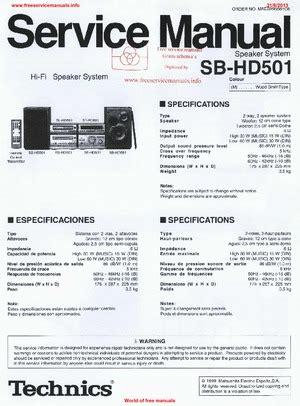 download gratis pdf car service repair manual free agusyulianto2 technics sb hd501 free service manual pdf download
