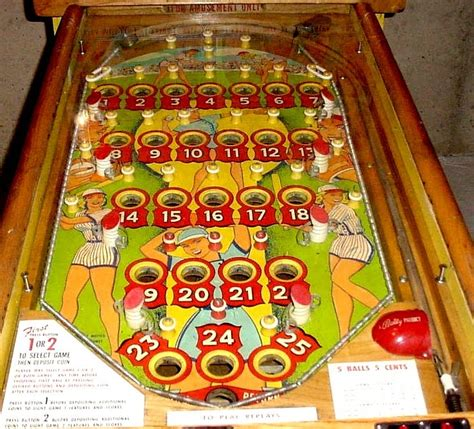 at the top of my want list a bingo pinball machine