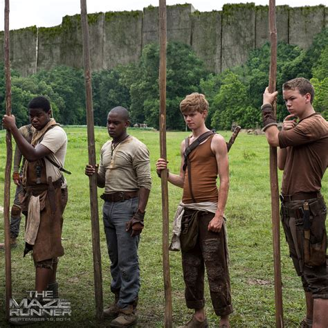 the maze runner film video 45 things to know about the maze runner from our set visit