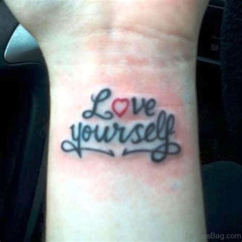 tattoo you images 18 cool love yourself tattoos on wrist