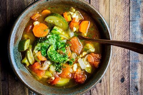vegetable soup recipes oliver minestrone soup oliver