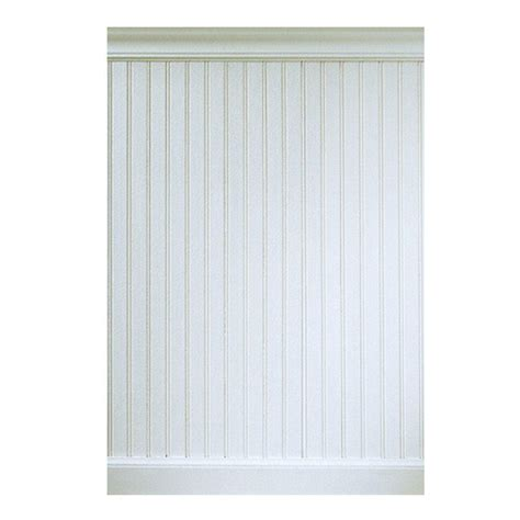Composite Wainscoting Panels House Of Fara 5 16 In X 5 29 32 In X 32 In 8 Ft