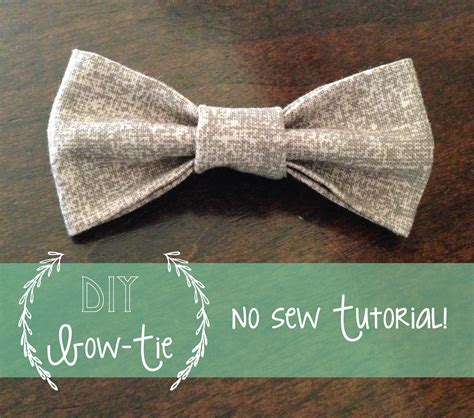 diy baby bow tie no my my kelsie millet no sew baby bow tie tutorial