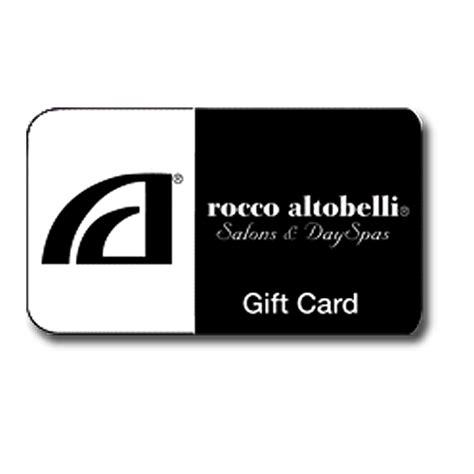 Salon Gift Card - salon gift card rocco altobelli salons