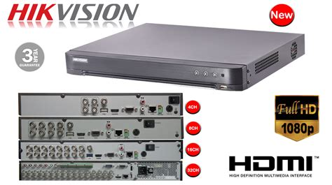 Paket Cctv Hikvision 16 Chanel 2mp Besi Hdd Lengkap 16 channel hikvision 4 in 1 digital recorder ds
