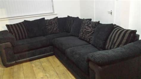 black fabric sofa gumtree 20 ideas of black corner sofas sofa ideas