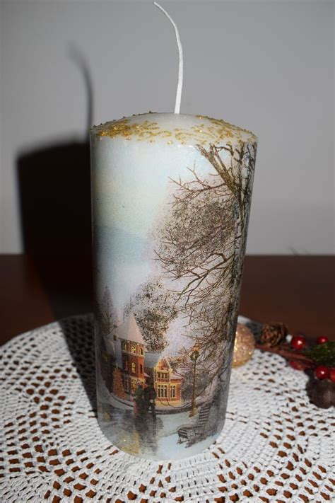 Decoupage Candles - 1000 images about decoupage candles holders