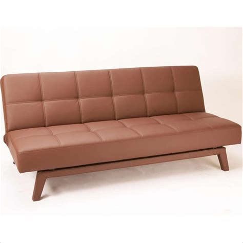 3 position futon techni mobili 3 convertible upholstered sofa