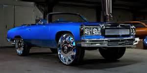 donk1975 chevrolet caprice big rims custom wheels