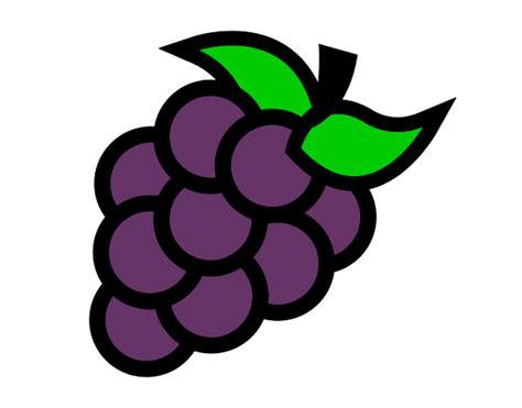 imagenes de uvas a color para imprimir dibujo de uvas verdes pintado por perlygabo en dibujos net