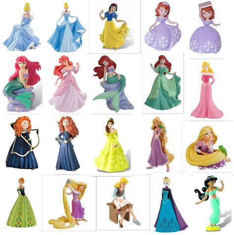 Figure Princes official bullyland disney princess figures figurines toys cake topper toppers ebay