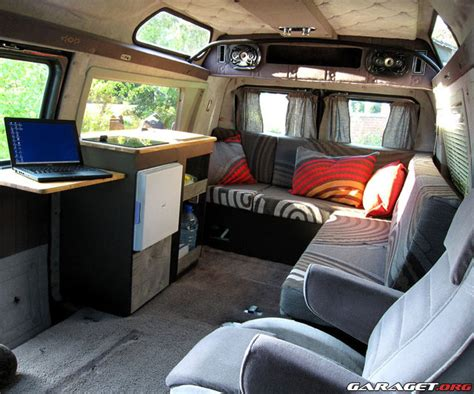 Custom Home Interiors bygga husbil av cheva van l 229 t oss unders 246 ka motorn
