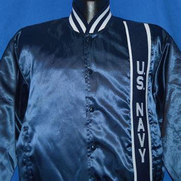26 Embro Navy shop vintage satin jackets on wanelo