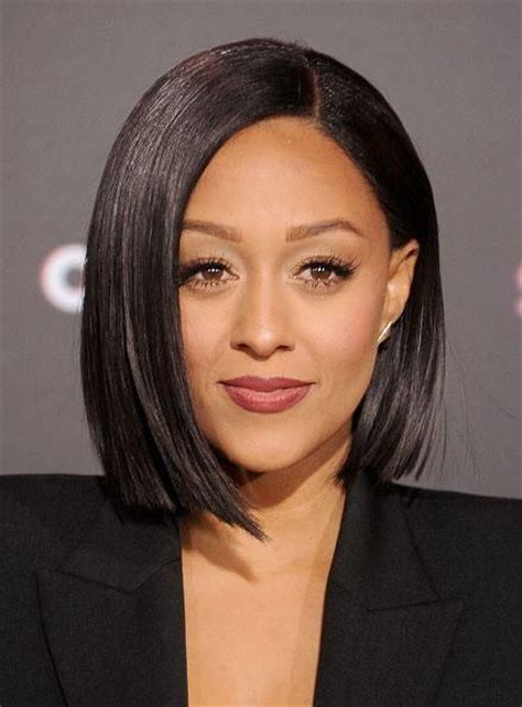 tia mowry long straight hair extensions hairstyle hot 45 best lob hairstyles images on pinterest hair cut