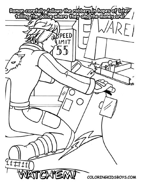 lego robber coloring pages bank robber coloring pages