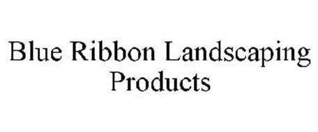 blue ribbon landscaping products trademark of miller