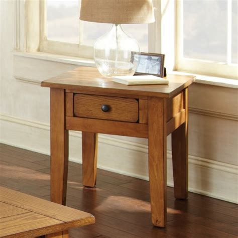 light oak wood end tables light oak 23 w x 27 d in triangular wood end table