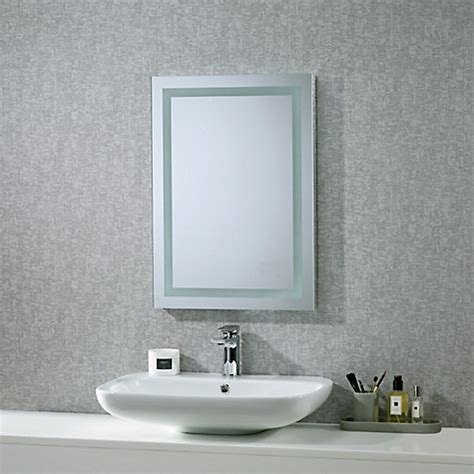 roper rhodes bathroom mirrors buy roper rhodes encore illuminated led bathroom mirror