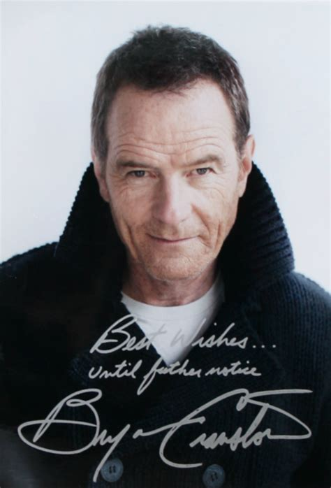 bryan cranston autograph bryan cranston autograph malcolm in the middle vc