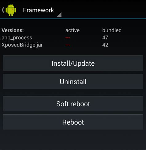 xposed framework installer apk install xposed framework and its modules on your android device