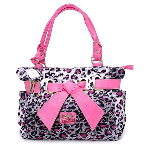 40655 25 Handbag Pearl Pink large coach baby bags jewelry