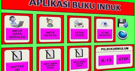 format buku induk smk download kumpulan format buku induk tk s d smk info guruku